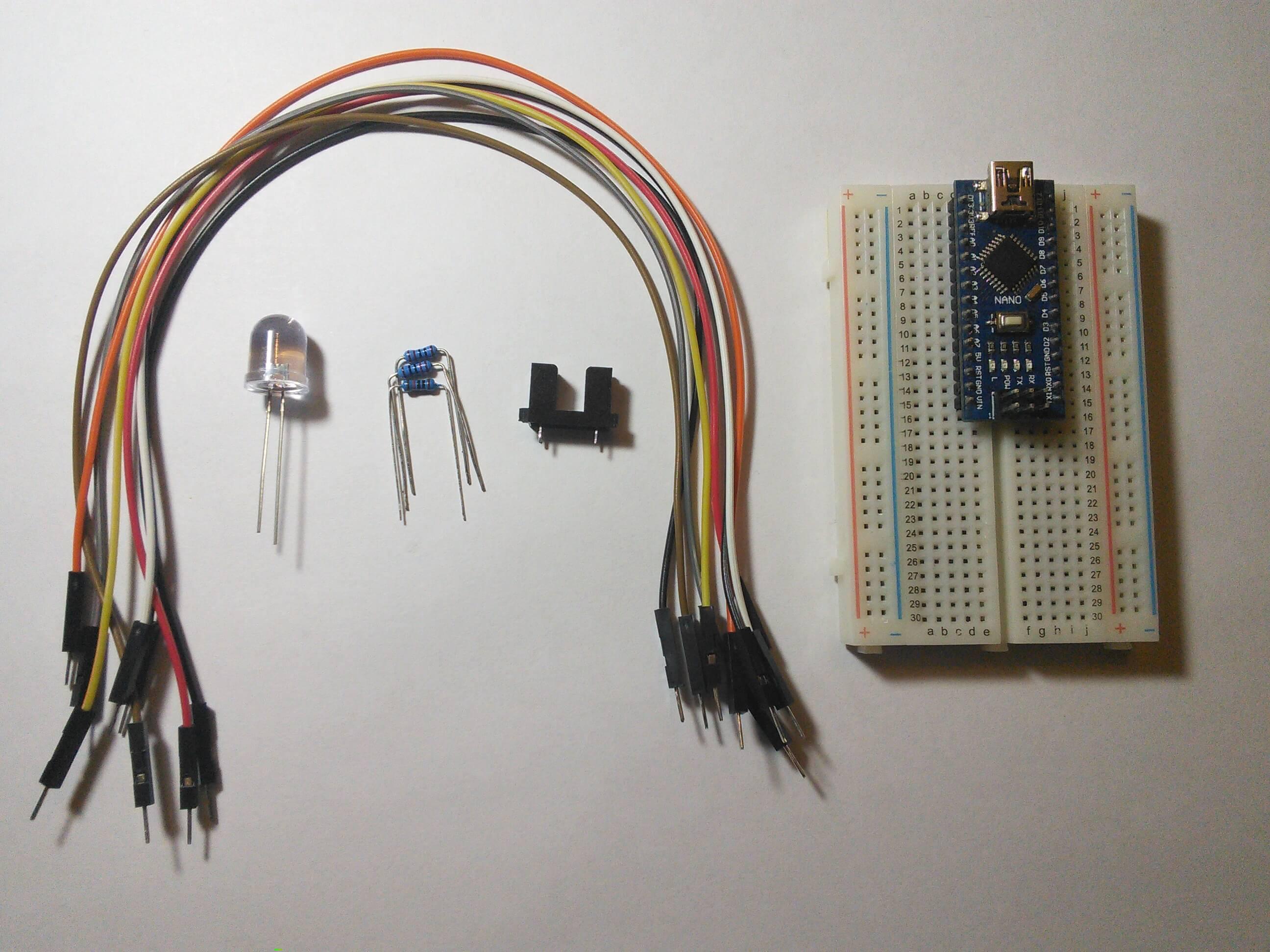 Arduino. Используем фотопрерыватель
